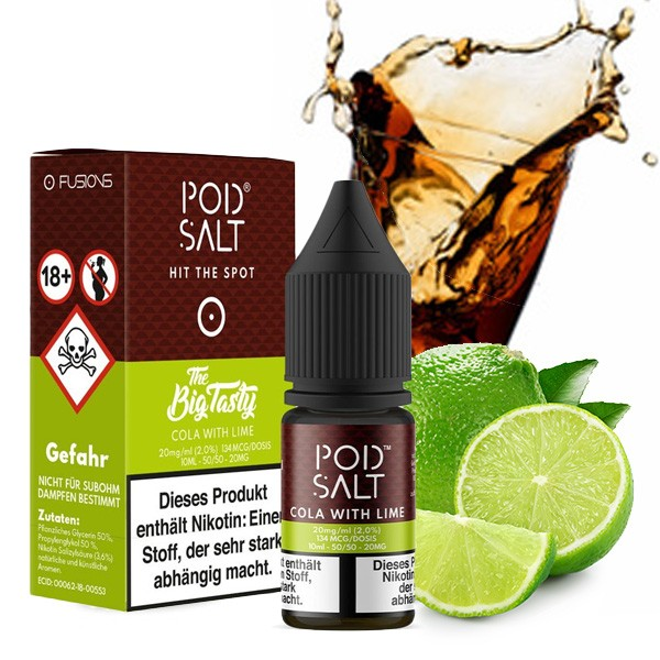 Cola With Lime | Liquid | Pod Salt