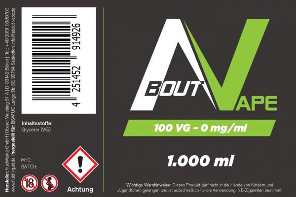 Base 100VG - 1000 ml