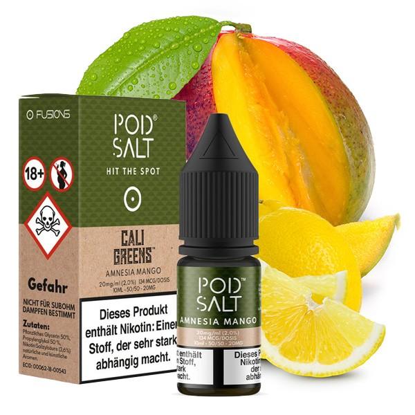 Amnesia Mango | Liquid | Pod Salt