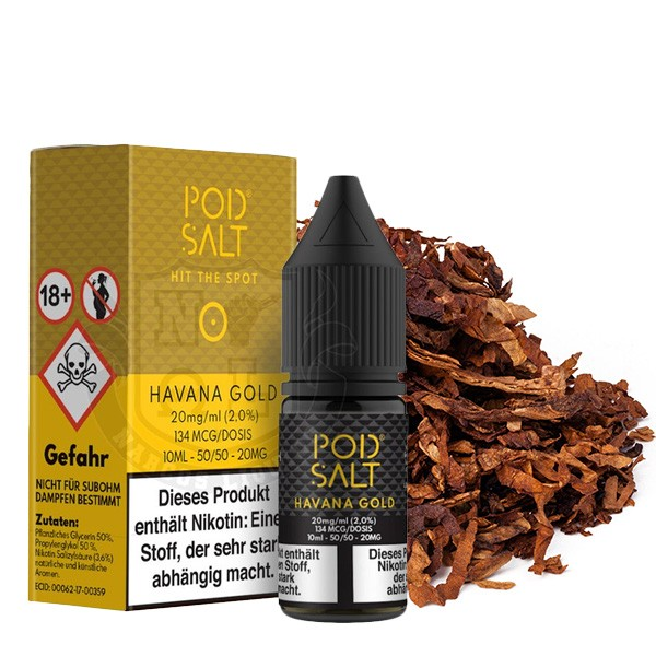 Havana Gold | Liquid | Pod Salt